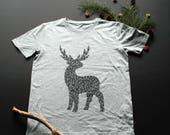 Tanned deer T-shirt / / m...