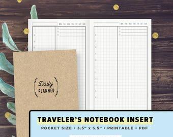 Pocket Size Tn Vertical Weekly Spread Weekly Planner