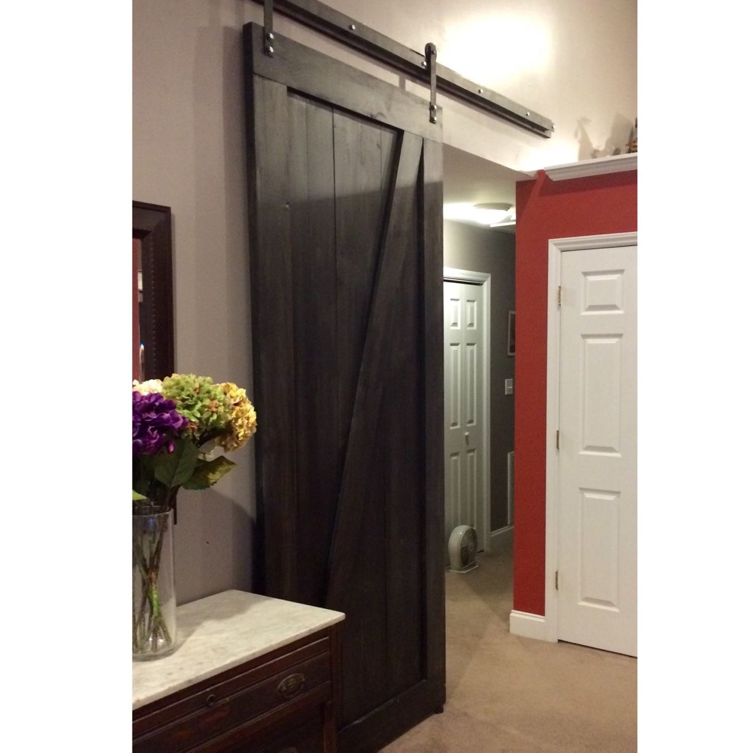 rolling door hardware doors plumbing wood even the to easy constructors for pantry follow tutorials with barn diy most using barns pipe novice super