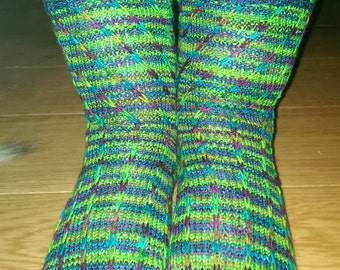 Helter Skelter Knitting Pattern