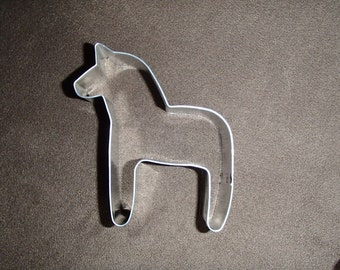 Scandinavian Swedish Dala Horse Cookie Cutter 3 3/4""