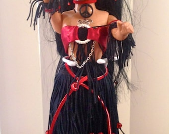 Gothic Belly Dance Doll
