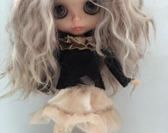 Blythe clothes blythe outfit blythe skirt blythe sweater blythe jumper blythe doll clothes blythe doll outfit for a blythe doll