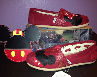 Disney Toms - Luggage tag inspired