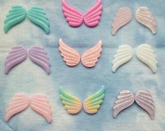 Beautiful set of wings needle minder