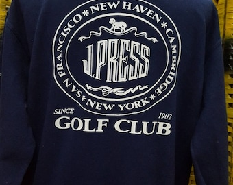 Vintage JPRESS / New York style / big logo spell out / very nice sweatshirt / Large size (B43)