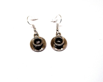 Coffee Tea Mug Earrings