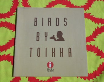 Iittala 'Bird of Toikka' brochure/booklet
