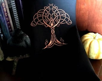 Samhain Celtic Tree Tarot/Altar CLoth
