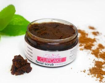 Cupcake Face Scrub, Exfoliating Face Scrub, Natural Face Scrub for her, Best exfoliating Face Scrub, Gifts for her