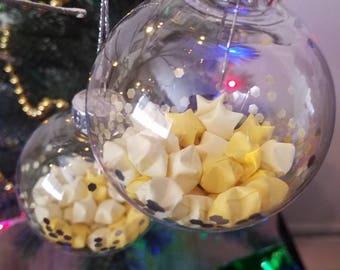 Yellow Lucky Stars Ornament