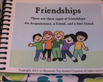 Social Story Book of Friendships