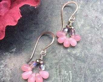 Pink Fizz Earrings