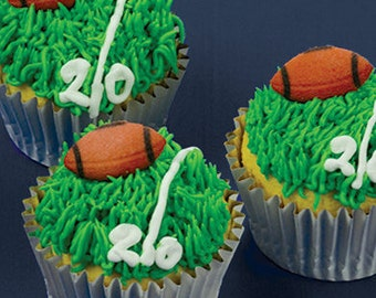 Edible Football Toppers #22