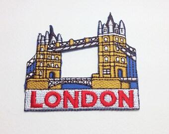 London bridge patch Landmark applique patch