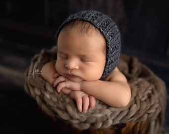 Mink Thin and thick blanket/brown blanket/mink blanket/bump blanket/Newborn Photography Props/layering blanket/photo prop/preorder