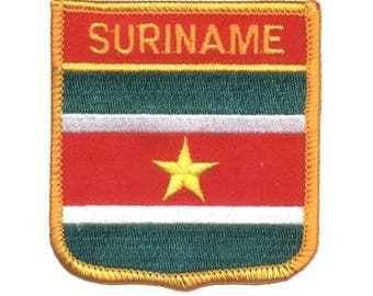 Suriname Patch (Iron on)