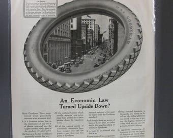 Tires  #101  Tires  Magazine Ad -  1916