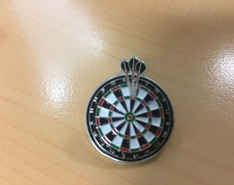 Dart Metal Pin Badge