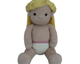 Girl Doll - Knit a Teddy