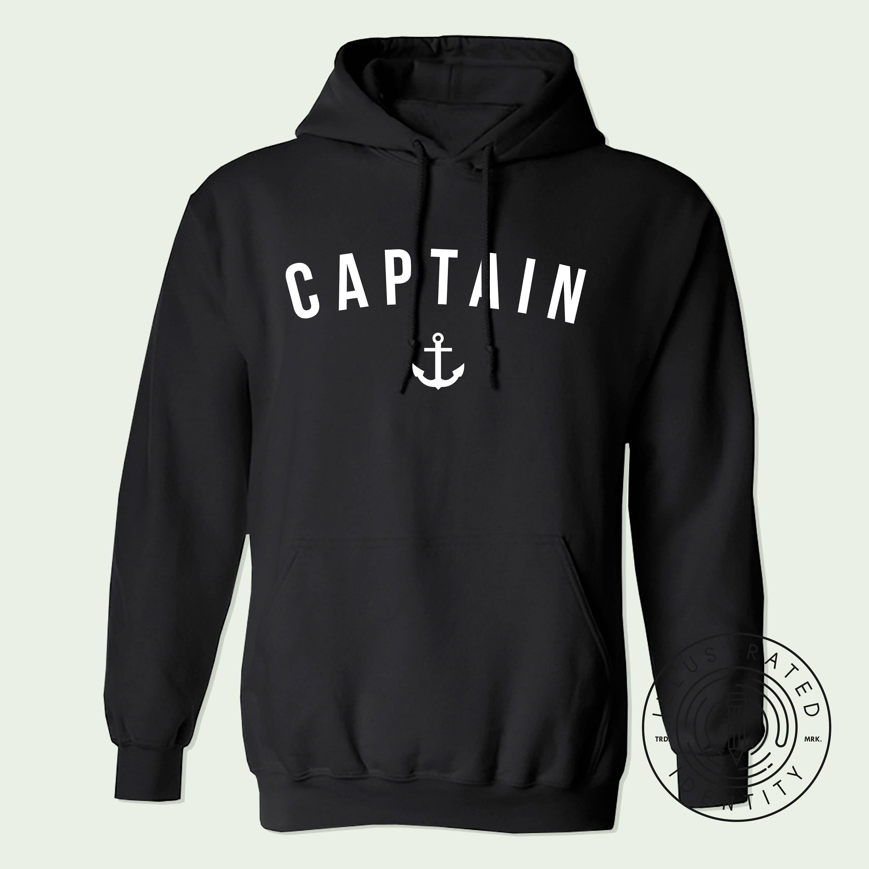 Captain unisex fit hoodie hooded sweatshirt K0040 XHSAkxKdS