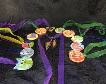 Amusing Crafty Ceramic Medallions