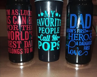 Dad Travel Coffee Cups and Insulated Tumblers