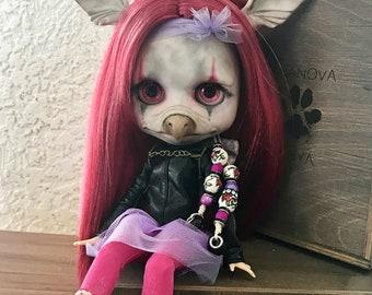 Blythe Doll Custom OOAK Griffin Girl