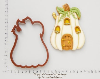 Pumpkin House Cookie Cutter