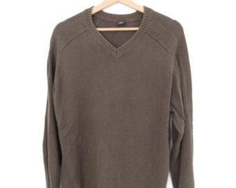 JOOP Vintage V-neck Sweater Jumper, sz. 50