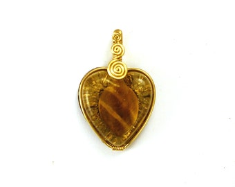 Tiger Eye - Orgone Pendant