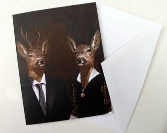 Uncle Buck and Aunt Doe - Note Card