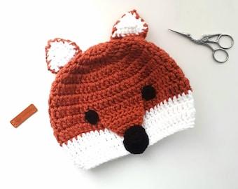 Cute little fox beanie
