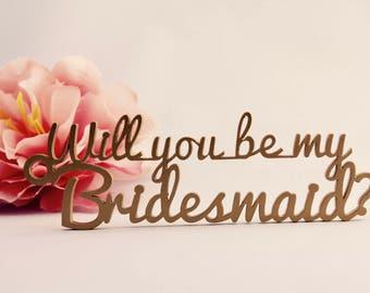 Will you be my Bridesmaid tag - Bridesmaid tag - wedding tag - Will you be my Maid of Honour - Be my Bridesmaid - favor tag
