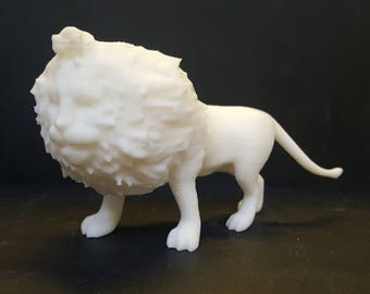 3d Printed - Cowardly Lion - Return to Oz figure. Customize with your own paint!