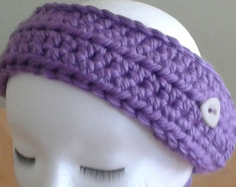 Ear Warmer / Headband - purple