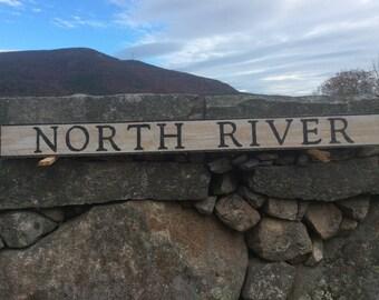 North River sign