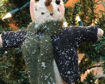 Bob Snowman Ornament