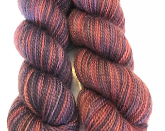 Brilliant Mistake, Polar Opposites... Canon Hand Dyes Charles Self Striping Superwash Sock Yarn