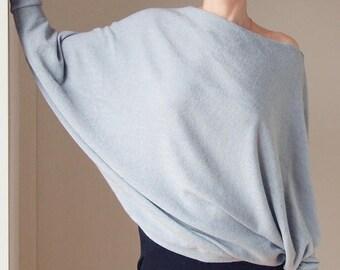 Off Shoulder Sweater Offshoulder Sweater  Light Sweater Slouchy Sweater  Sweatshirt Cozy Sweatshirt Oversized