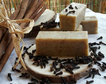 Cinnamon and clove SOAP