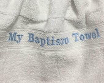 Baptism Towels