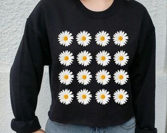 Flower UO Grunge Sweater, indie, festival, grunge