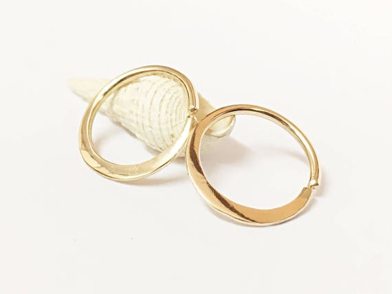 15g nipple rings gold nipple jewelry nipple piercing ring