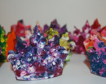 Jumbo Crown Crayons/ Princess Party/ Birthday Favors