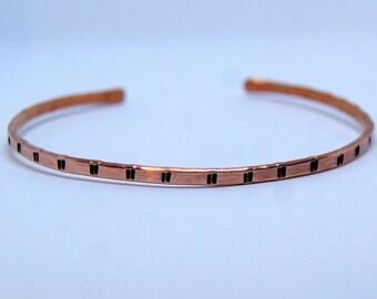 copper men's bracelet, cuff bracelet, copper bracelet, copper cuff, cuff bracelet, hammered copper, copper jewelry