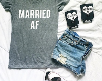 MARRIED AF tshirt - On Sale