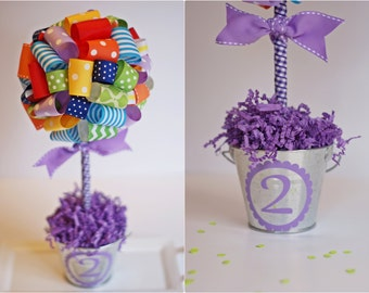 BABY SHOWER CENTERPIECE / Birthday centerpiece / Birthday center pieces / Unique baby shower centerpiece / Graduation party centerpiece
