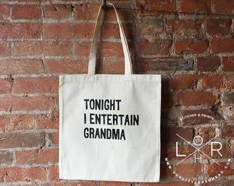 Tote Bag, Crafty Tote Bag, Toddler Overnight Tote Bag