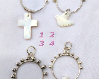 A Religious necklace, rosary
